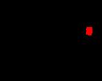 \chemname{\chemfig[][scale=0.75]{C(-[2]H)(-[4]H)(-[6]H)-C(-[2]H)(-[6]H)-{\color{red}S}H}}{merkaptan etylowy}