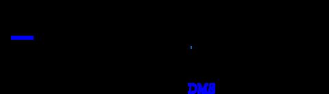 \schemestart \chemname{\chemfig[][scale=0.9]{S(-[:90]H_3C)(-[:270]H_3C)(-[,,,,blue,line width=1.5pt]CH_{2}CH_{2}CHNH_{2} C(=[:90,,9,1]O)(-[:270,,9,1]OH))}}{S-metylometionina} \arrow{->} \chemname{\chemfig[][scale=0.9]{S(-[:90]H_3C)(-[:270]H_3C)}}{\color{blue}DMS}\chemsign{+}\chemfig[][scale=0.9]{CH_{2}CH_{2}CHNH_{2} C(=[:90,,9,1]O)(-[:270,,9,1]OH)} \schemestop\par